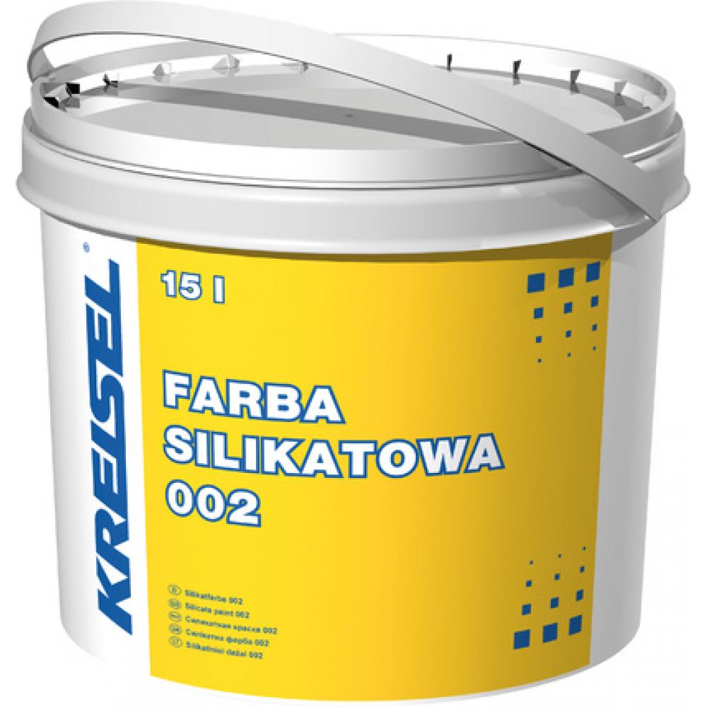 Фасадная силикатная краска FARBA SILIKATOWA 002 Kreisel